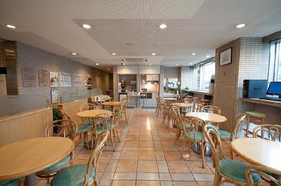 Super Hotel Matsuyama: 朝食コーナー