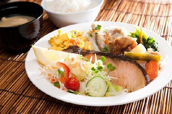 Super Hotel Hakata: 健康朝食例