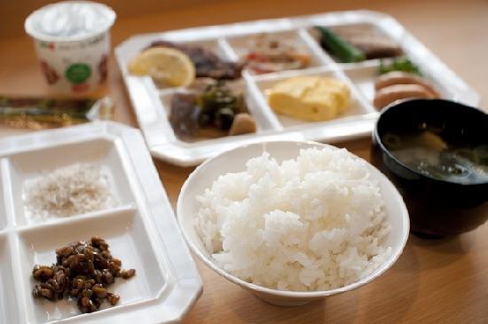 Super Hotel City Minamata: 健康朝食例