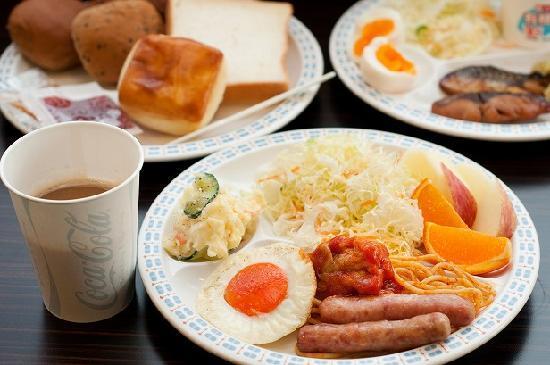 Super Hotel Oita Nakazu Eki Mae: 健康朝食例
