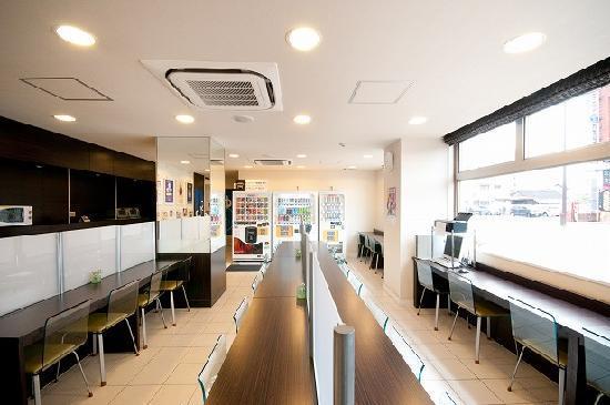 Super Hotel Oita Nakazu Eki Mae: 朝食コーナー
