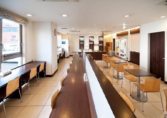 Super Hotel Miyazaki : 朝食コーナー