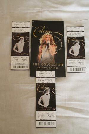 Celine Dion at the Colosseum at Caesars Palace: Celine Dion Tickets :)