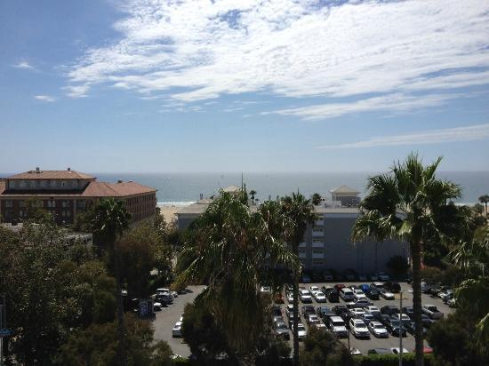 Viceroy Santa Monica: View from our room on the 7th floor