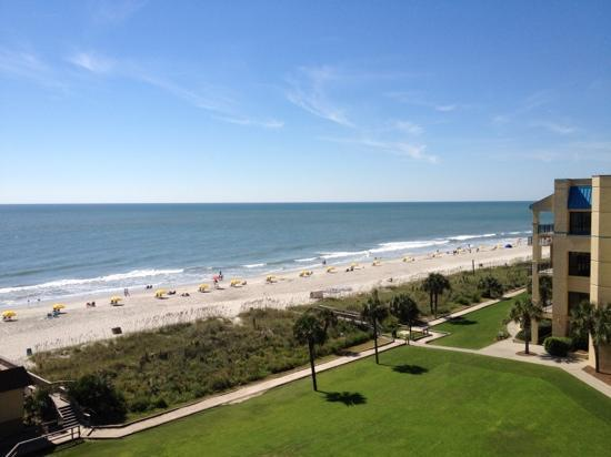 Springmaid Beach Resort & Conference Center Restaurant: view from our room at Live Oaks