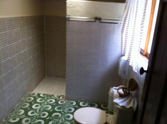 Hotel Regis Panajachel: Bath