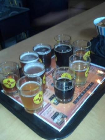 Santa Fe Brewing Company: Sampler - 10, 4oz tastes. Good stuff!