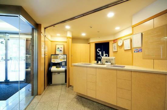 Super Hotel Umeda Higobashi: ロビー