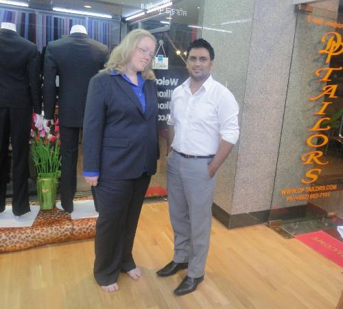 Friend of Kim Norway at dptailors