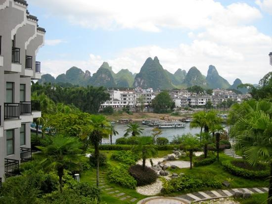 Green Lotus Hotel: view from room 2233