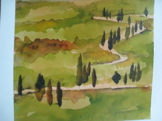 Art Studio di Adelina Quadri : Painting I bought from Adelina; posted here for sharing