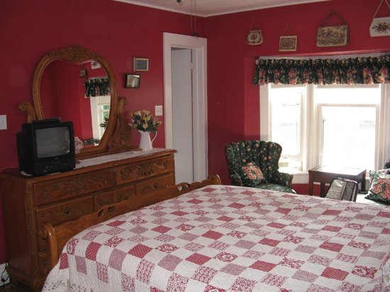 The Manse Bed and Breakfast: Bedroom