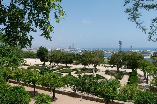 Hotel Miramar Barcelona: View from hotel