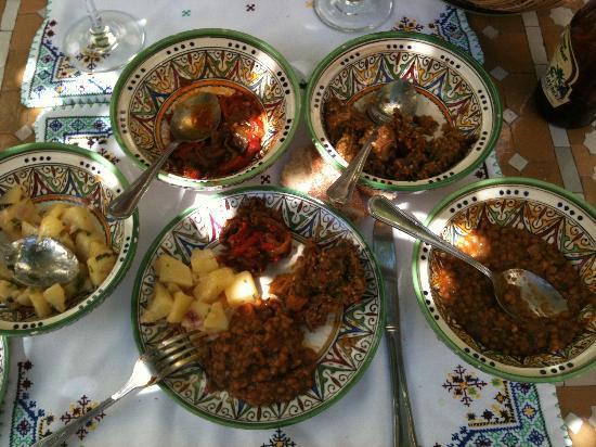 Ryad Salama Fes: Vegan Moroccan Salads