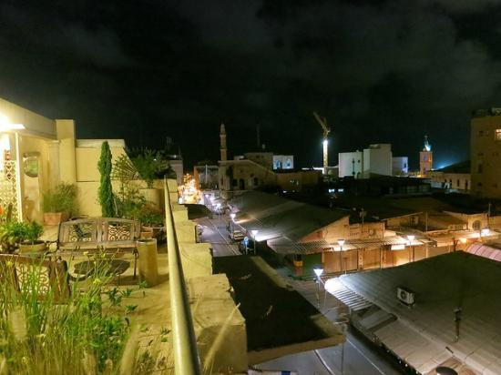Old Jaffa Hostel : View from rooftop balcony