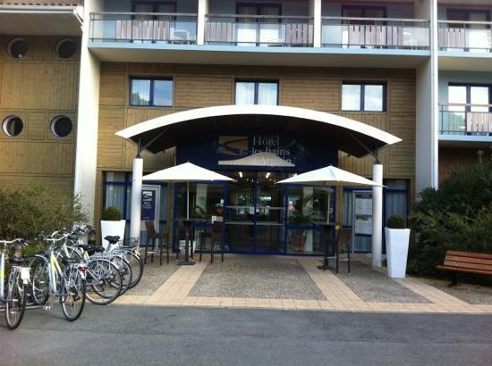 Hotel les bains d'Arguin : on peut se promener à vélo