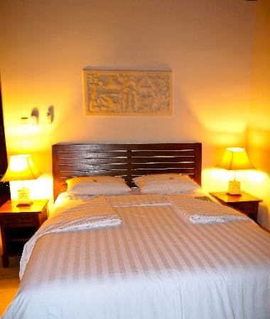 Kubu Indah Dive & Spa Resort: Super-comfy bed