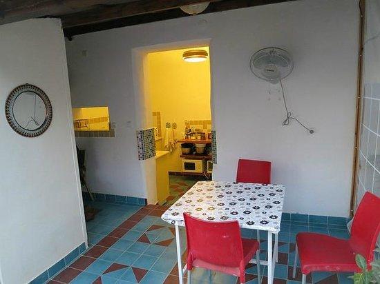 The Jerusalem Little Hotel: Rooftop kitchen