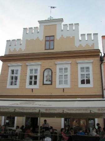 Vratislav House: detail