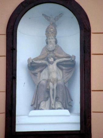 Vratislav House: detail sculpture