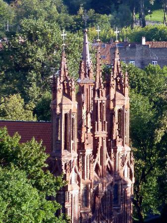 كنيسة سانت أني: Overlooking St Anne's From Gediminas Tower 