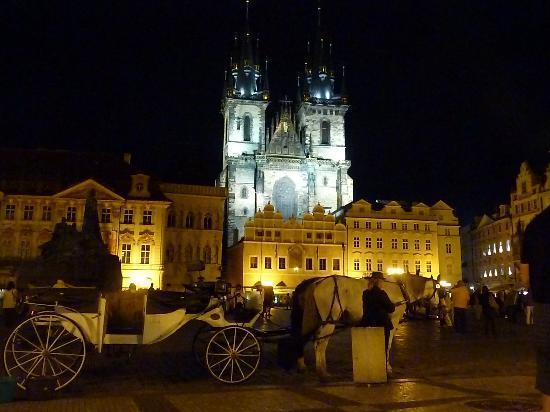 Clarion Hotel Prague City: Kirche der Jungfrau Maria vor dem Tein