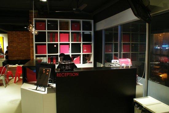 Ryokan Chic Hotel: Ryokan @ Damansara Utama Reception