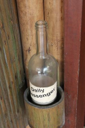 Fridays Boracay: daily messenger