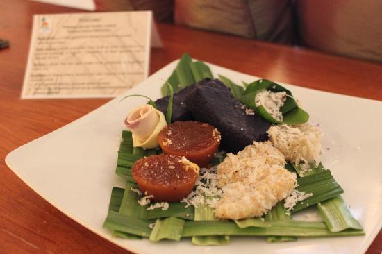 Fridays Boracay Resort : welcome food