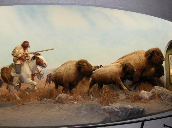 Manitoba Museum : Alles zeer realistisch gemaakt