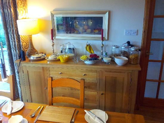 Brae House Bed and Breakfast: Continental breakfast option