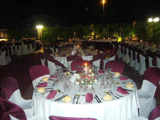 Hotel Mitra: Terraza boda 4