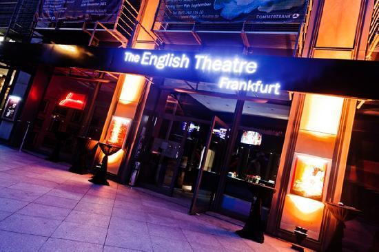 Eingang des English Theatre Frankfurt