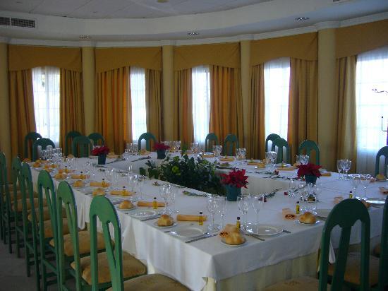 Hotel Mitra: Salón de reuniones