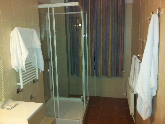 Hotel Rinno: Большая душевая кабина