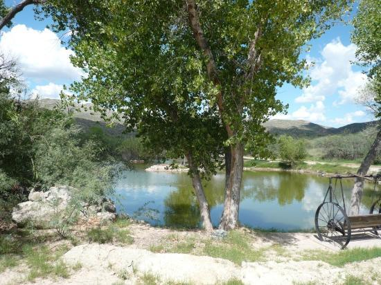 Tanque Verde Ranch: The fishing lake