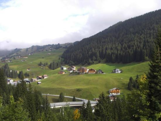 Alpenhotel Mittagspitze: vistas desde el balcón