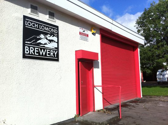Alexandria, UK: Loch Lomond Brewery