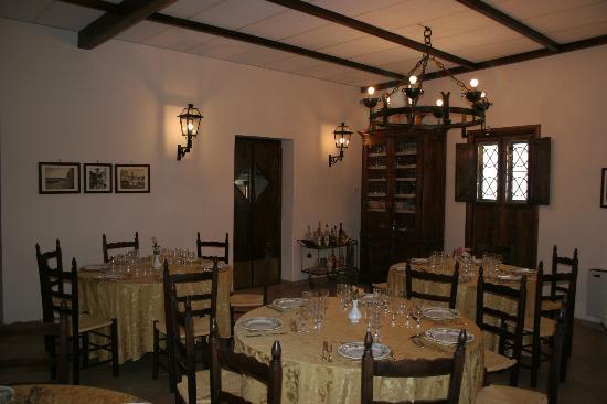 Hotel Villa de Pertis: Sala ristorante
