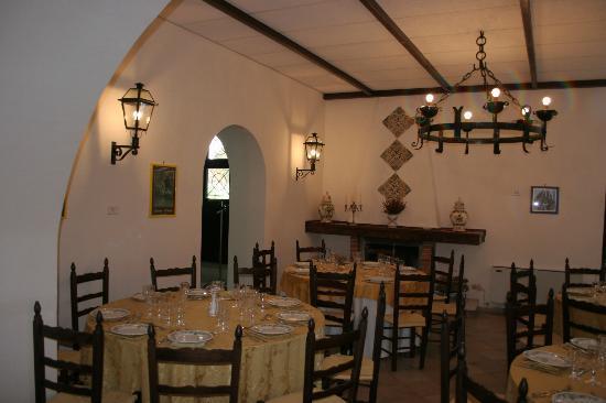 Hotel Villa de Pertis: Salone