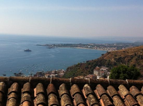 Luxury Residence Taormina: view from balcony