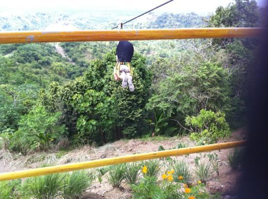 Delta Discovery Park: Going Down! Butuan in the distance.