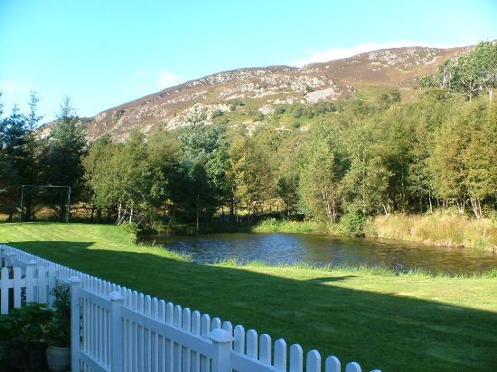 Highland Holiday Cottages: View from our cottage