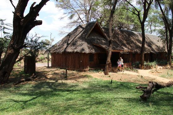 Samburu Game Lodge: The premier lodgings right on the river