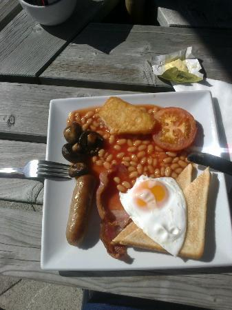 Cafe Lifestyle: The £3.95 Breakfast was as good as it looks.