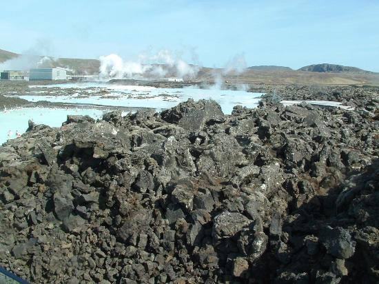 Blue Lagoon Iceland: Lunar landscape