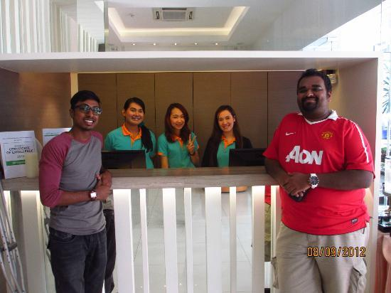 CityPoint Hotel: the friendly staff