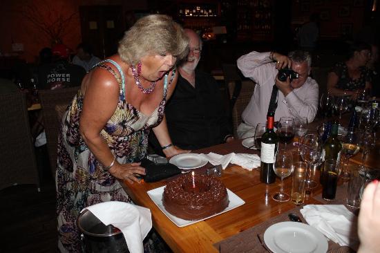 Cancha II : The Cake!