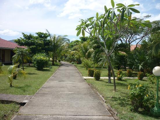 Villaggio Flor de Pacifico: Giardino tropicale Flor de Pacifico