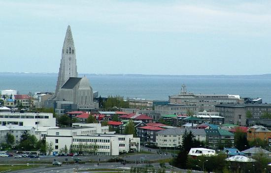 The Pearl (Perlan): View over Reykjavik from The Pearl